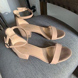 Women's nude heels